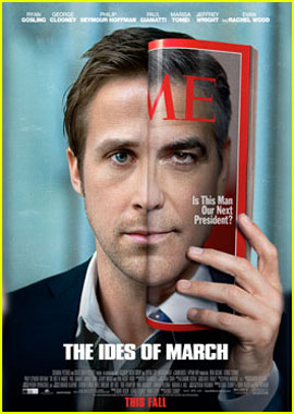 George Clooney & Ryan Gosling: 'Ides of March' Poster!