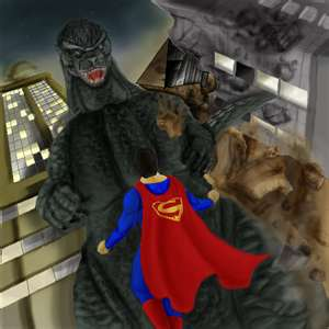 Godzilla Vs. Superman