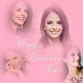Happy Birthday Caroline♥I made. - caroline-celico fan art