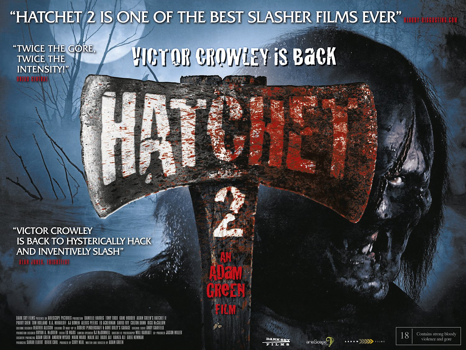 Hatchet Horror Movie