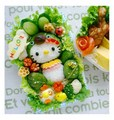 Hello Kitty Salad - cute-food photo