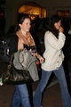 Holly and Shannen Dining At Nobu, Malibu