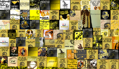 Hufflepuff wallpaper possibly with an electric refrigerator and anime entitled Hufflepuff