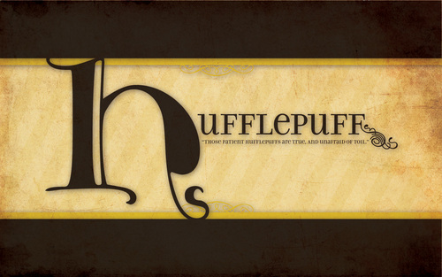 Hufflepuff wallpaper probably with a sign called Hufflepuff