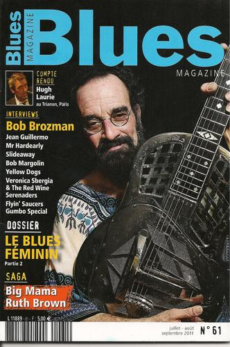 Hugh Lauire-Blues Magazine(French May 2011)