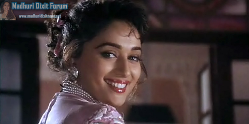 Madhuri Dixit wallpaper possibly containing a portrait called Hum Aapke Hain Koun