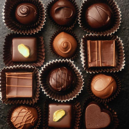 I Love Chocolates! - chocolate Photo