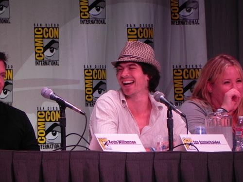 Ian @ Comic-Con ღ