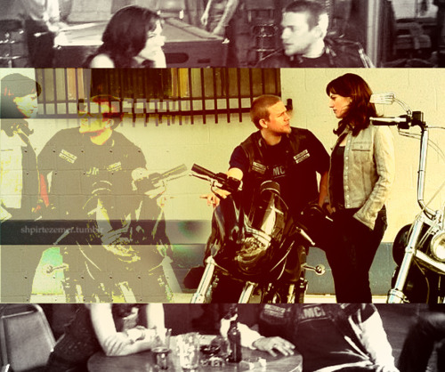 Sons Of Anarchy wallpaper containing a concert entitled Jax & Tara