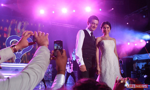 Jennifer - Azam Aslamov Wedding - July 19, 2011