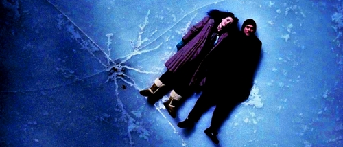 Eternal Sunshine wallpaper possibly containing a sign and tobogganing called Joel & Clementine