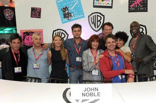 John Noble signing @ SDCC 2011