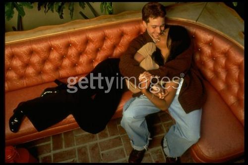 Jonathan with Tatyana Ali