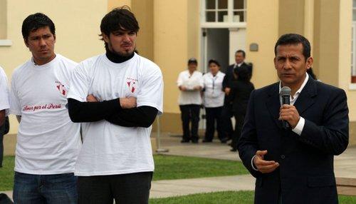 Juan Manuel Vargas Ollanta Humal Fiorentina Peru copa america 2011