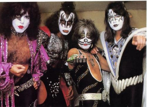 KISS wallpaper entitled KISS (1979)