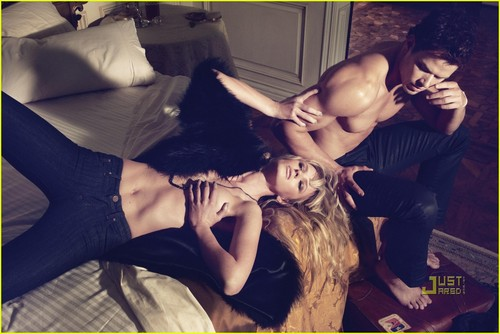 Kellan Lutz & Anne V: Dylan George & Abbot + Main Campaign!