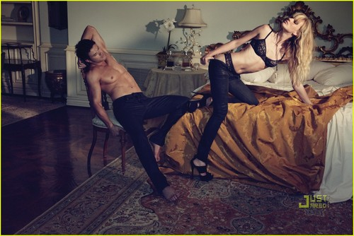 Kellan Lutz & Anne V: Dylan George & Abbot + Main Campaign! - kellan-lutz Photo