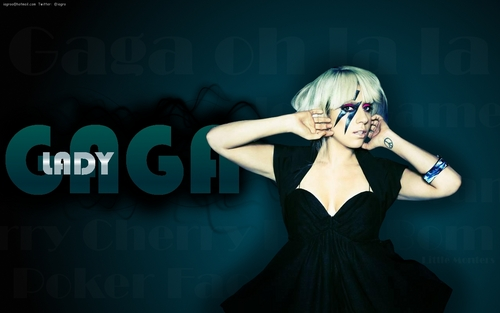 Lady Gaga پیپر وال - @iagro