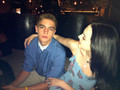 Liz & Brother at dinner for 18th Bday - liz-gillies photo
