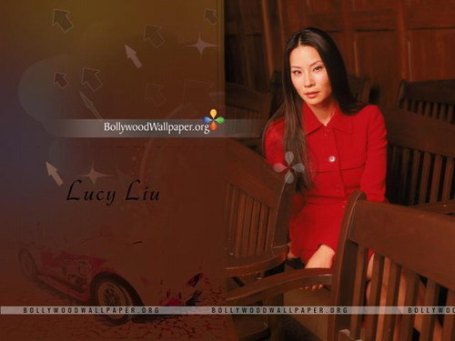 lucy liu wallpaper possibly containing a packing box and a rua titled Lucy Liu