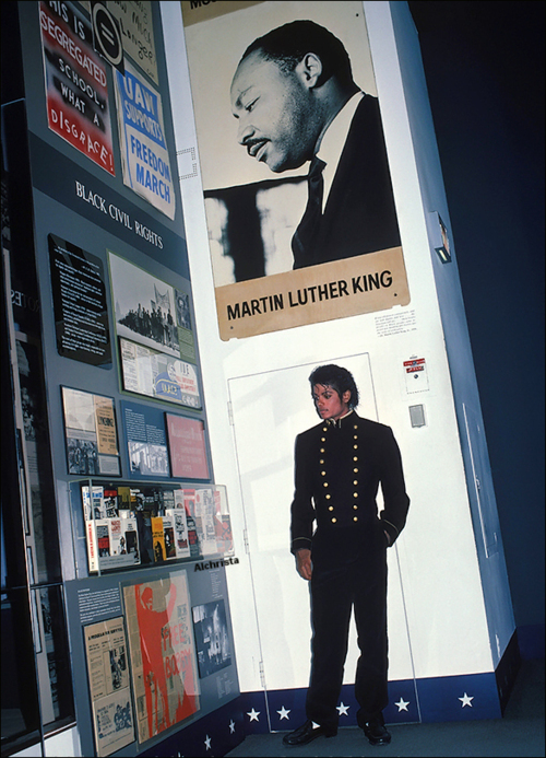 MJ at the Civil Rights Muesum
