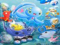 Manaphy and Friends - water-pokemon-club wallpaper