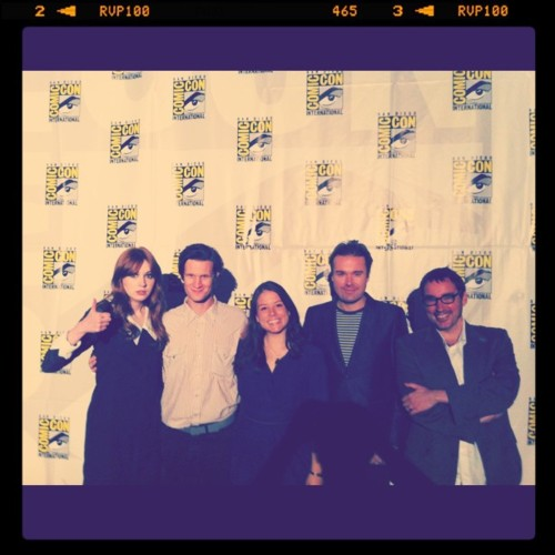 Matt Smith & Karen Gillan @ San Diego Comic Con 24/7/11