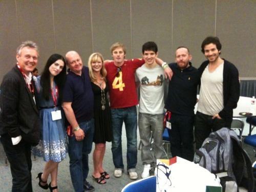 Merlin Cast at Comic-Con