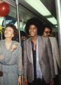 Michael on the subway - michael-jackson photo