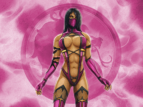 Mortal Kombat wallpaper entitled Mileena