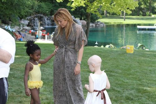 Miley - Kids Kicking Cancer in Michigan - July 19, 2011