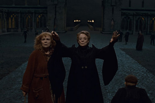 Minerva McGonagall and Molly Weasley