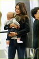 Miranda Kerr Leaves Los Angeles with Flynn