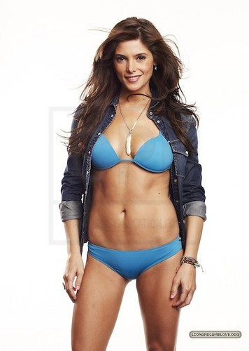 Ashley Greene wolpeyper with a bikini entitled madami outtakes of Ashley Greene's Women photoshoot