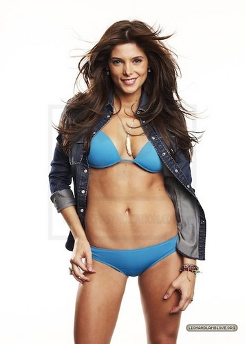 Ashley Greene wallpaper with a bikini called More outtakes of Ashley Greene's Women photoshoot
