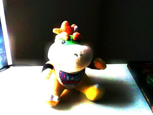 My Bowser Jr. plushie X3
