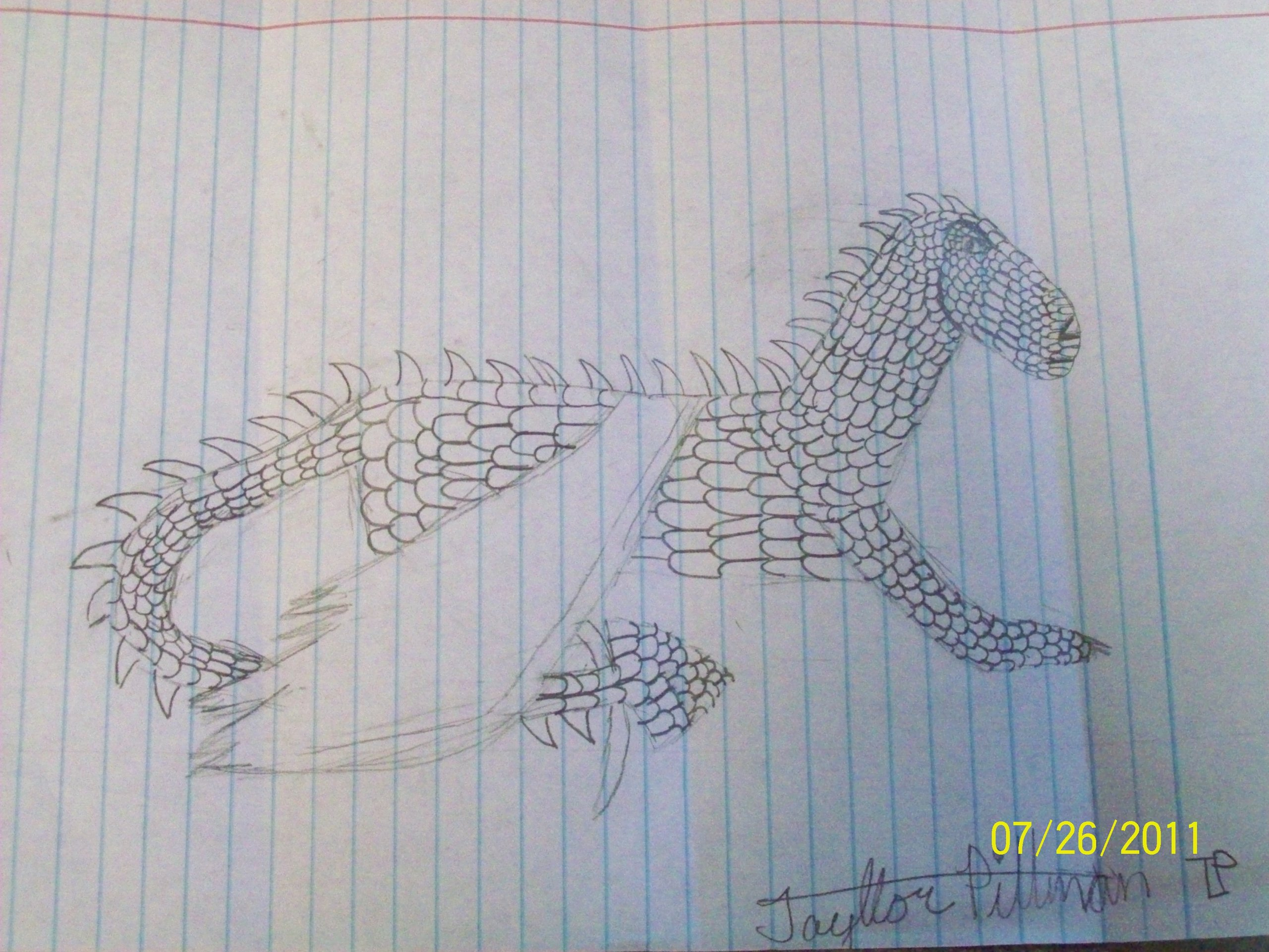 My drawing of third dragon