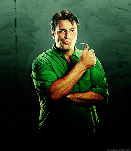Castle wallpaper entitled Nathan Fillion, Comic Con