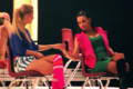 Naya Rivera & Heather Morris