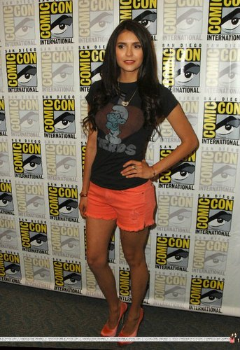 Nina Dobrev at Comic Con 2011!