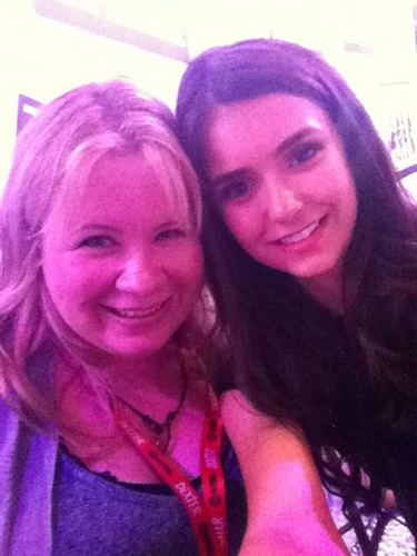 Nina & Julie at Comic Con Signing
