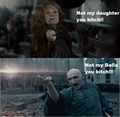 Not my Bella! - bellatrix-and-lord-voldemort photo