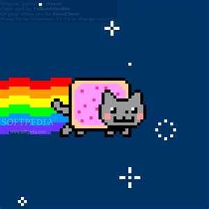 Nyan Cat Hintergrund entitled Nyan Cat