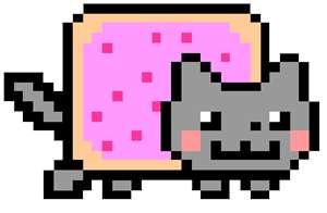 Nyan Cat karatasi la kupamba ukuta called Nyan Cat