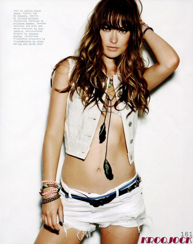 Olivia Wilde in the August 2011 Issue of Nylon Magazine