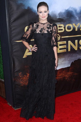 Olivia Wilde @ the Premiere of 'Cowboys & Aliens'