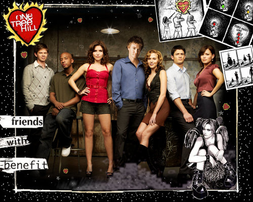 Leyton Family3 Wallpaper Probably Containing A Multiplex Diner And Anime Titled One Tree Hill HD