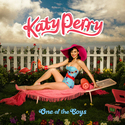 Katy Perry wallpaper possibly with a picket fence entitled One of the Boys Fanmade Single Covers