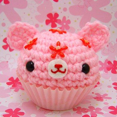 Cute Food images Pink Bear Cupcake wallpaper and ...