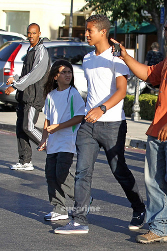 Prince, Paris, Blanket, Jaafar and Jermajesty at the pelikula in Calabasas 7/24/2011